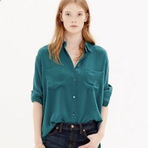 Madewell Silk Spotlight Shirt